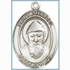 St Sharbel Medal - Sterling Silver - Medium