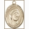 Blessed Teresa of Calcutta Medal - 14K Gold Filled - Medium