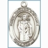 St Thomas a Becket Medal - Sterling Silver - Medium