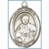 St Pius X Medal - Sterling Silver - Medium