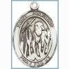 St Polycarp Medal - Sterling Silver - Medium