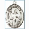 St Maurus Medal - Sterling Silver - Medium