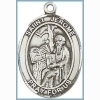 St Jerome Medal - Sterling Silver - Medium