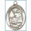 St John Licci Medal - Sterling Silver - Medium