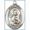 St John the Apostle Medal - Sterling Silver - Medium