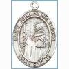 St John of the Cross Medal - Sterling Silver - Medium