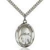 St Jeanne Jugan Medal - Sterling Silver - Medium