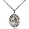 St Lydia Medal - Sterling Silver - Medium