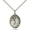 St Mary Magdalene of Canossa Medal - Sterling Silver - Medium