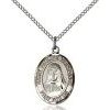 St Pauline Visintainer Medal - Sterling Silver - Medium