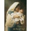 Kissing the Face of God Christmas Card