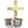 Cross Holy Water Font