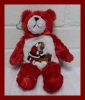 Kneeling Santa Holy Bear