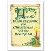 Irish Christmas Card with Scripture