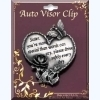Message Visor Clip - for Sister