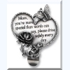 Message Visor Clip - for Mom