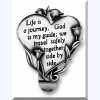 Message Visor Clip - Life Is a Journey