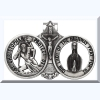 St Christopher Visor Clip - Our Lady of the Highway