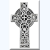 Irish Cross Visor Clip