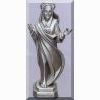 Queen of Peace Pewter Statue