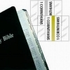 Catholic Bible Tabs - Standard Size - Gold Edged