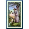 Angel with Boy Holy Card