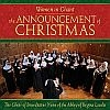 Announcement of Christmas - Women in Chant Music CD