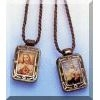Brown Scapular Pendant