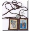 St Christopher Brown Scapular