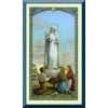 Our Lady of Fatima Holy Card