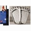 Precious Feet Pin - Nickel Silver Finish