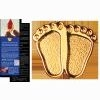 Precious Feet Pin - Gold Electroplate Finish