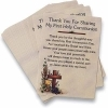 First Communion Thank You Prayer Cards