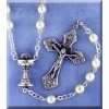 First Communion Rosary - White Rosaries
