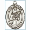 St Agatha Medal - Sterling Silver - Medium