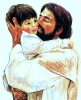 Jesus and Child Poster Print